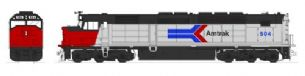 Kato (USA) 176-9201 EMD SDP40F Type 1 Amtrak Ph1 No.504